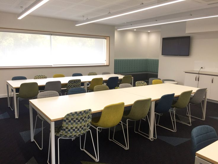 INDI chairs and staff lunchroom fitout @ Emmanuel Christian College by Burgtec  #lunchroom #furniture #perth