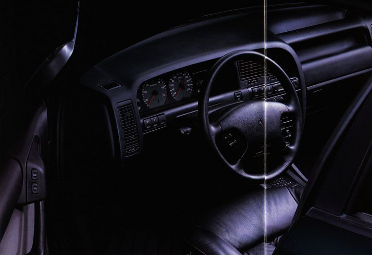 Citroen Xantia interior; 1995_3 |  auto car brochure | by worldtravellib World Travel library - The Collection
