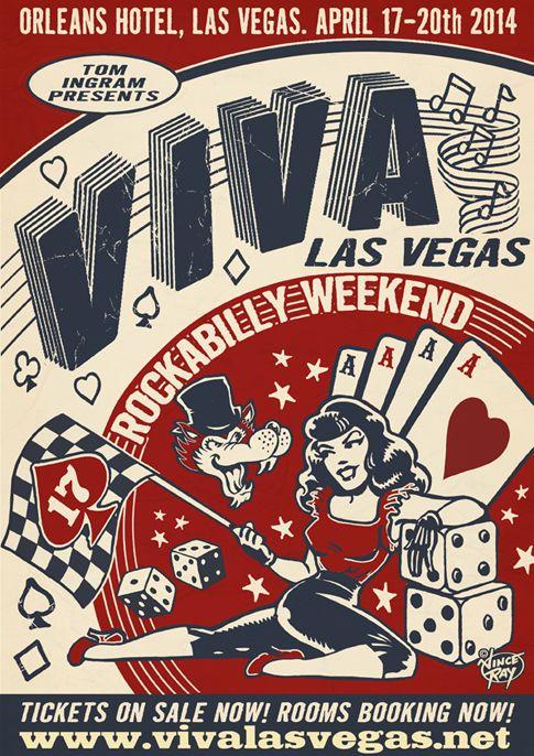 Viva rockabilly Las Vegas ; I so need to go to this