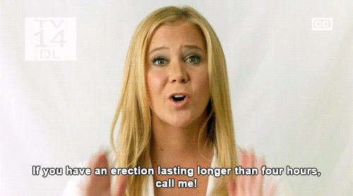 Just…really say what's on your mind. | 27 Times Amy Schumer Nailed What Dating Is Like For Women