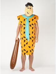 Adult Fred Flintstone Fancy Dress Costume
