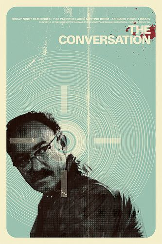 'The Conversation' *Oscar Nominee for Best Picture 1974 *Golden Globe Nominee for Best Picture/Drama 1974 *1974 Cannes Palme d'Or Prize