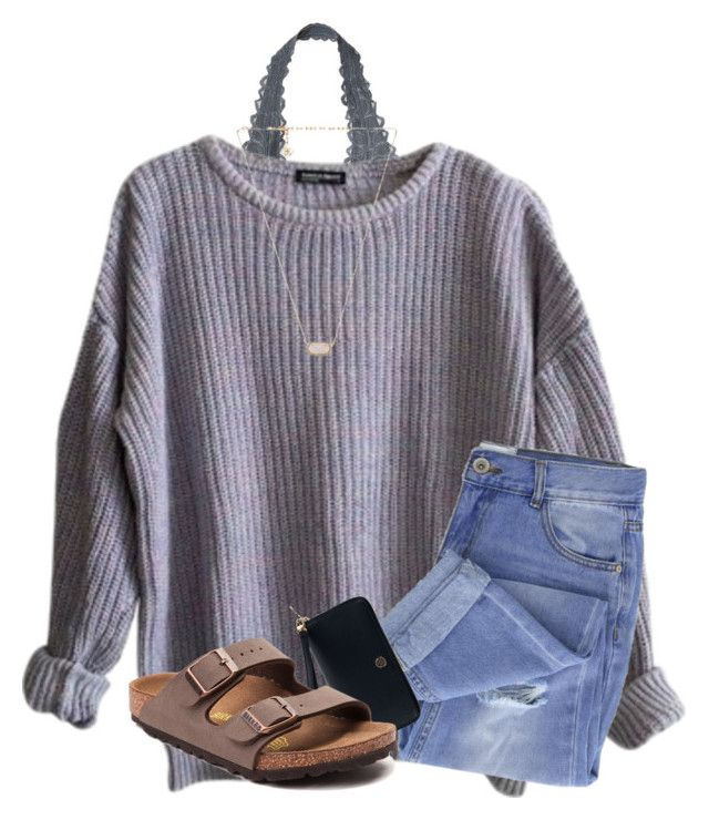 """""""I'm ready for summer// QOTD: 3 favorite colors?"""" by samanthars ❤ liked on Polyvore featuring Victoria's Secret, American Apparel, Taya, Tory Burch, Birkenstock and Kendra Scott"""