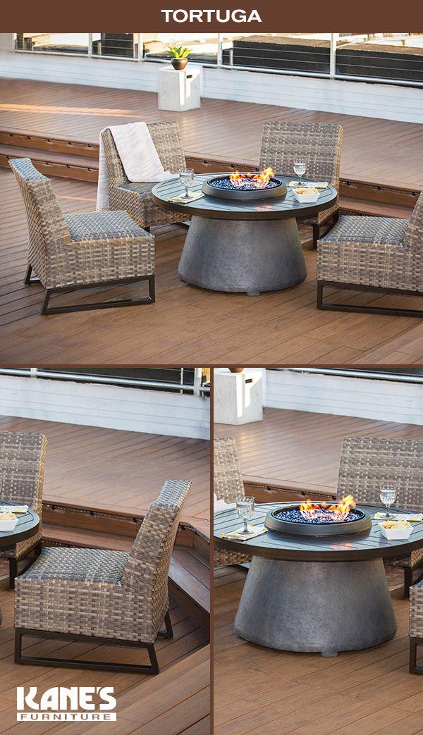 tortuga x round firepit 4 a less chrs outdoor outdoor furniture rh pinterest com