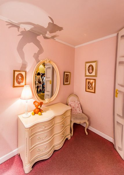 Have you ever seen this on Pinterest with the caption that it's a cut-out on the lamp? It's one of the Top 5 Disney Myths. Read more in this blog post!