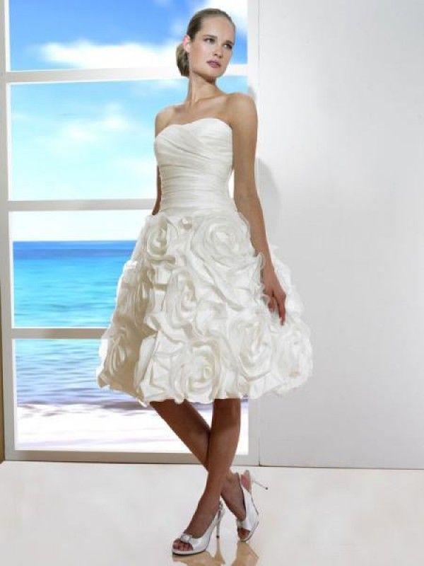 24 besten Knee-Length Wedding Dresses Bilder auf Pinterest ...