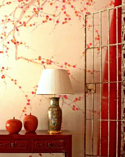 Calming Japanese Red Room Chinoiserie WallpaperchinoiserieLiving Room Red Wall Paper   Ideasidea. Red Living Room Wallpaper Ideas. Home Design Ideas