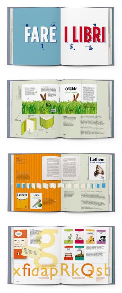 fare i libri (making books) designed by Riccardo Falcinelli
