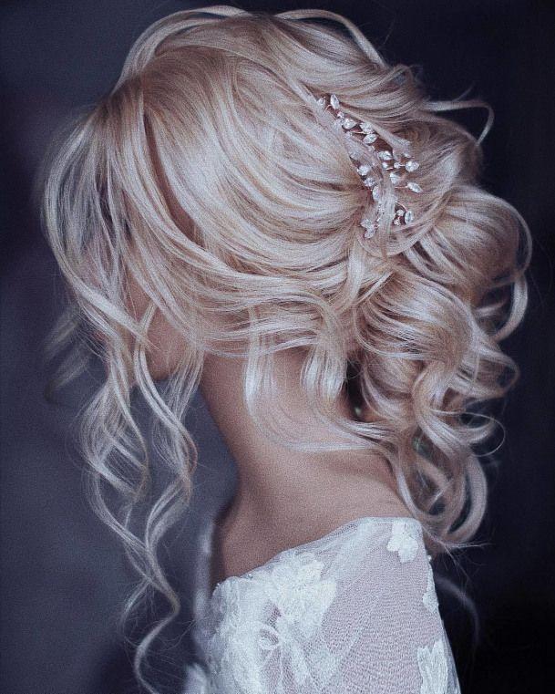 Pages de mariage de luxe sur Instagram: Que diriez-vous de cette coiffure magnifique? ???? Doub   – wedding hairstyles With Veil