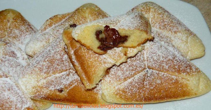 Bizcochitos hechos en sandwichera o gofrera   Comparterecetas.com