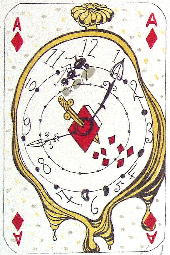 Ace of Diamonds, salvador dali