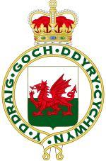 The 1953 Royal Badge of Wales - Wikipedia, the free encyclopedia