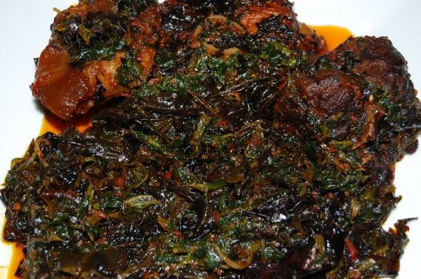 Edikaikong  #Nigerian Food  straight from Akwa-Ibom state (home state)