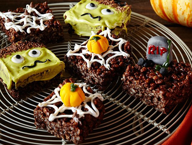 Receta de Monstruos de Halloween ¡crujientes!