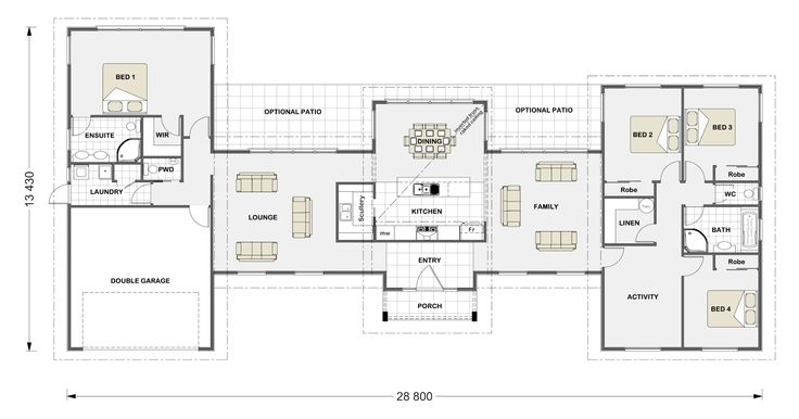 This would be a good house if family had older kids though the washer/dryer needs to be moved to center of house