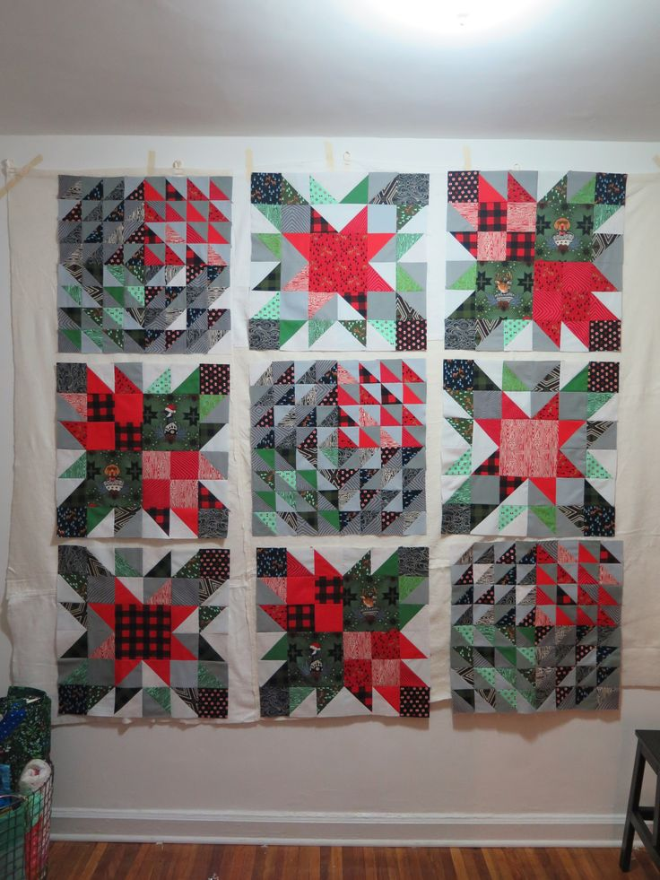 Quick And Easy Christmas Quilt Block 3 Christmas Sewing