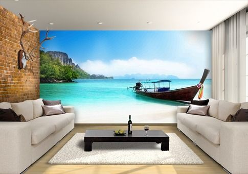 Add some character with Heaven to your feature walls to brighten up your interior space