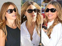 Sofia Vergara wearing sunglasses | Perhaps Sofia Vergara is always wearing these Tom Ford sunglasses to ...