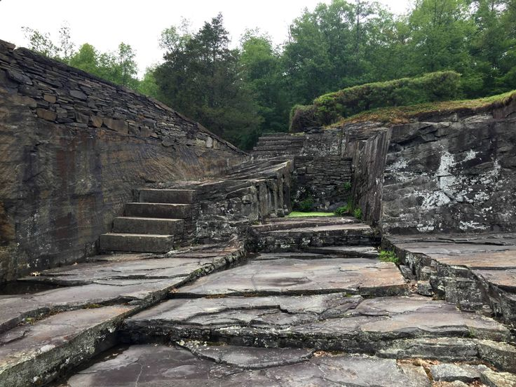 Opus 40 is a large environmental sculpture in Saugerties, New York, created by sculptor and quarryman Harvey Fite (1903—1976).
