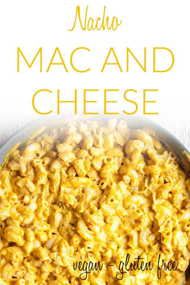 Nacho Mac And Cheese Vegan Gluten Free This Simple Nut Free Vegan Mac And Cheese Is Rich Creamy And In 2020 Vegan Meal Prep Vegan Side Dishes Vegan Comfort Food