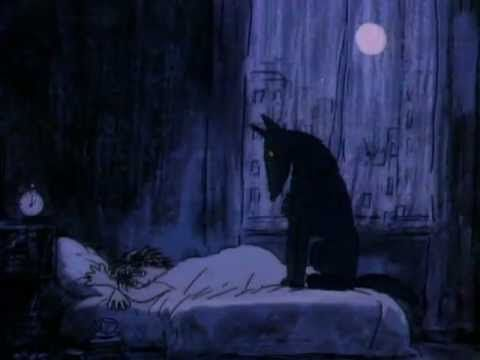 Amazing short film by Alison De Vere Черный пес /The Black Dog/ UK, 1987