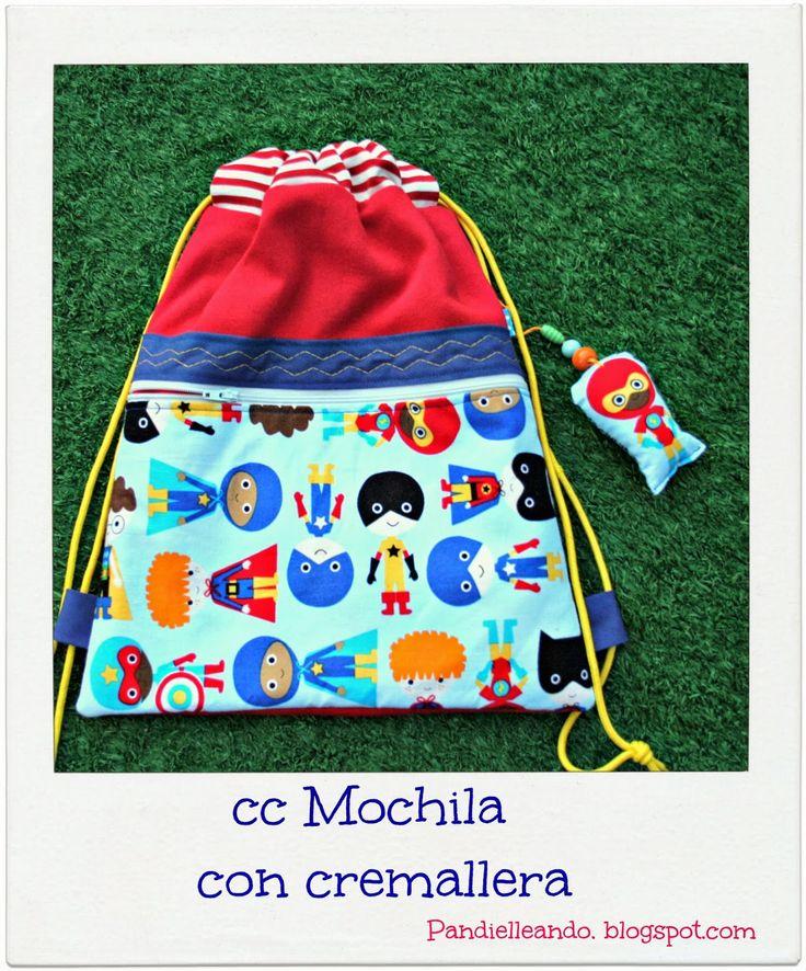 PANDIELLEANDO: CC Mochila con cremallera http://pandielleando.blogspot.com.es/2014/02/cc-mochila-con-cremallera-lista-de.html