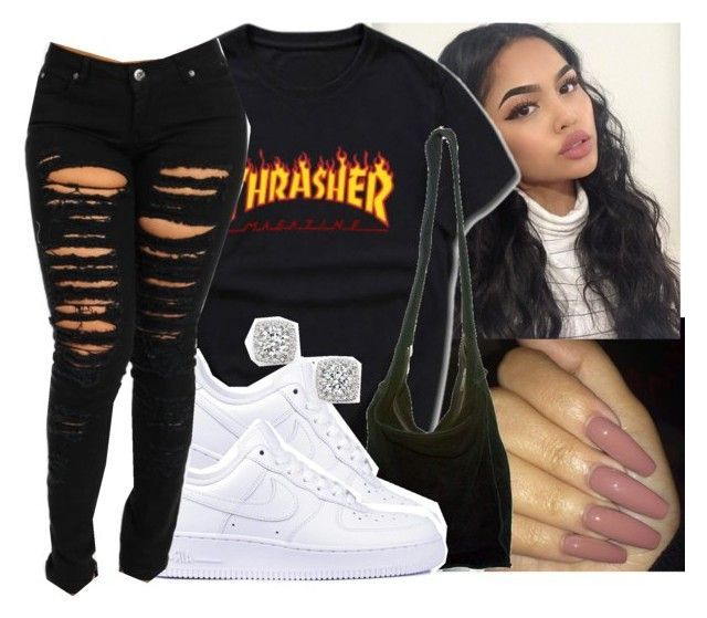 "cool ""#thrasher"" by eazybreezy305 on Polyvore featuring Acne Studios, NIKE,..."