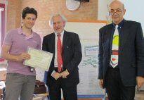 """Sezione Aziende Terzo classificato: """"Di testa mia"""" - Associazione Ditestamia Health Promoting Guys di Lucca"""