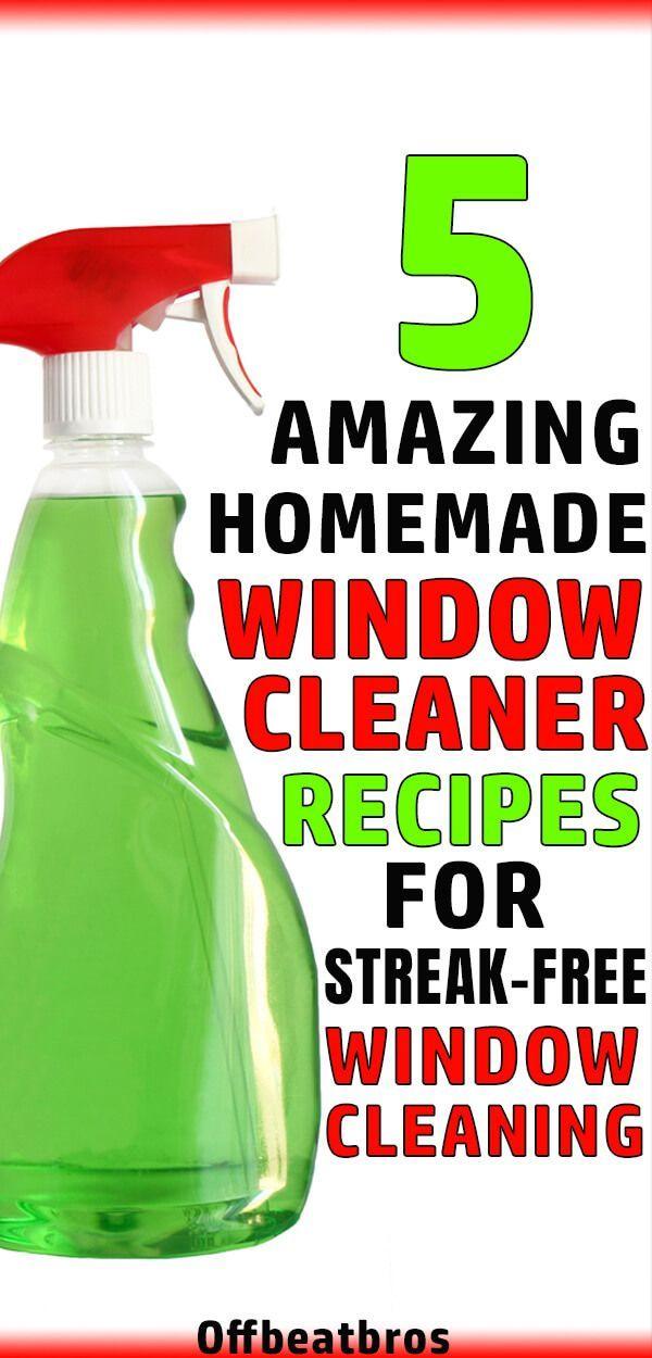 5 Best Homemade Window Cleaner Recipes Window Cleaner Homemade