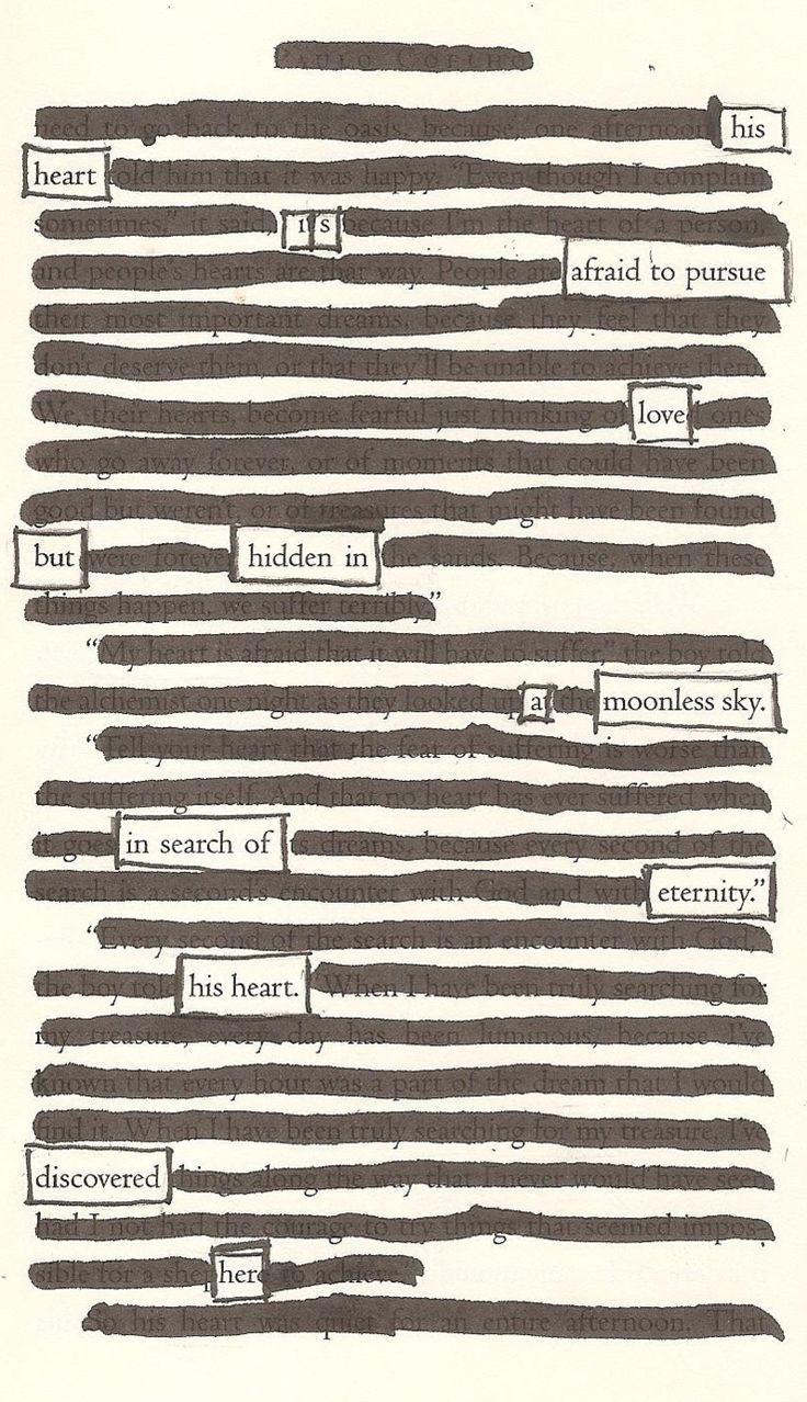 A Moonless Sky - By Kevin Harrell I honestly love this sooo much I write poetry but this is simply beautiful blackout poetry