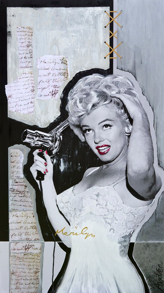 Beautiful as Marilyn, handmade by Atelier Andrea