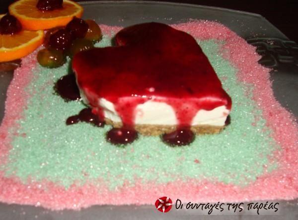 Cheese cake στο πι και φι #sintagespareas