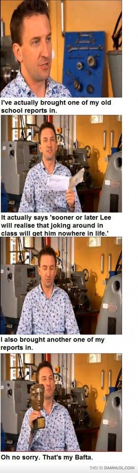 Lee Mack! Haha, one of my all time favourites. :)