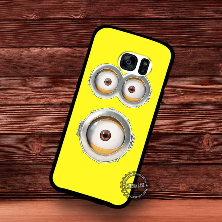 Print Out and Cut Minions Eyes - Samsung Galaxy S7 S6 S5 Note 7 Cases & Covers