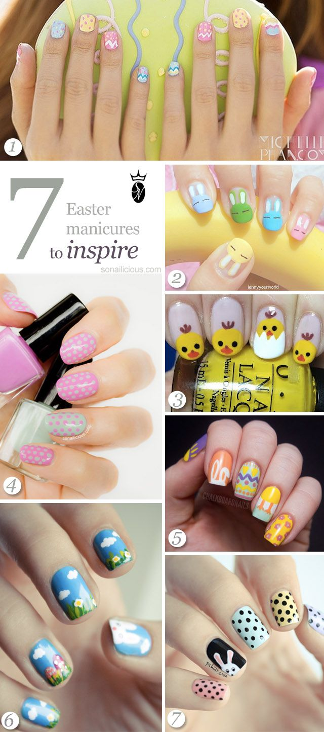 Best 25+ Easter Nail Designs Ideas On Pinterest
