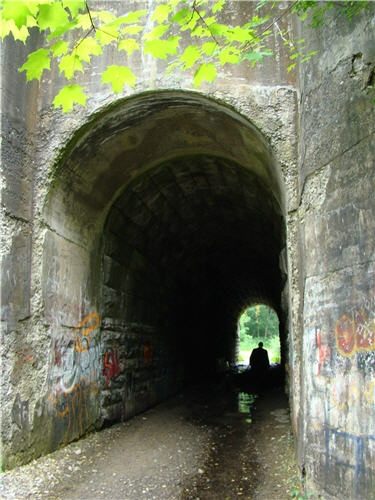 Screaming Tunnel, Niagara-on-the-Lake, Ontario - legend goes that a girl, her clothes ablaze, fled through the tunnel, screaming and now if you light a match at midnight, the flame will go out and the girl's screams will be heard.