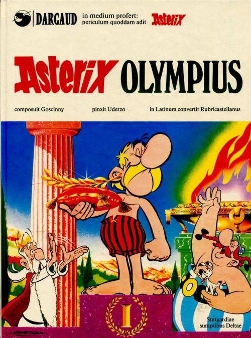 astérix la bd | Couverture de Astérix (en latin) -12- Asterix olympius