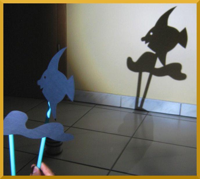 DIY: Schattentheater für Zuhause. Aus Tonkarton und Trinkhalmen werden ganz leicht einzigartige Schattenfiguren.