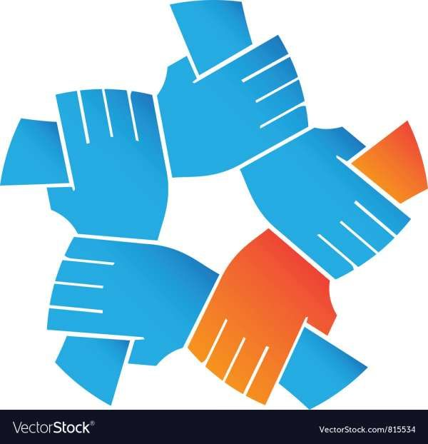 10 Helping Hands Vector Hand Logo Vector Free Helping Hands Logo