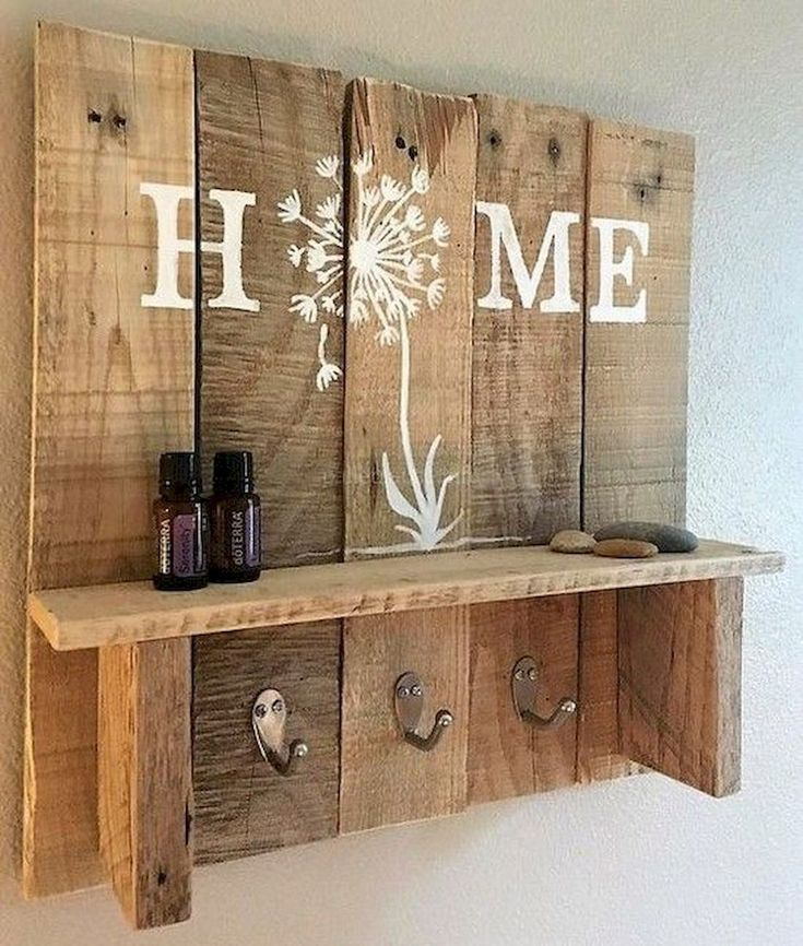 55 Easy Diy Pallet Project Home Decor