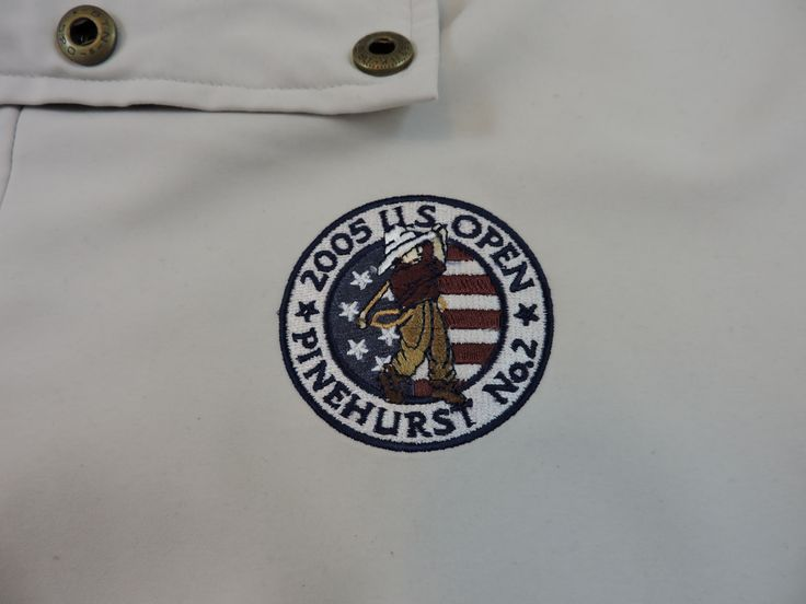2005 US Open Pinehurst No. 2 Men's pullover jacket #golf #USOpen #majorchampionship