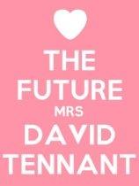 The Future Mrs David Tennant Poster -