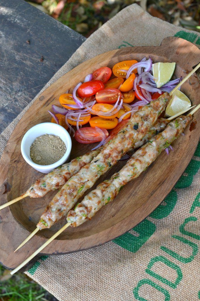 Grilling with Dad: Chicken Seekh Kebabs - Spice in the City