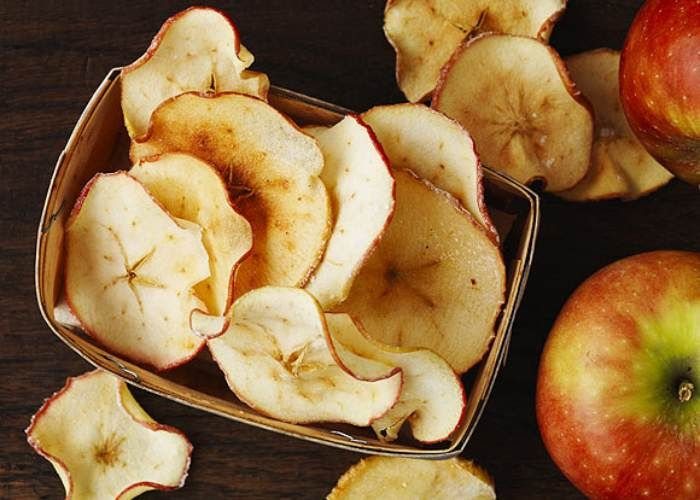 Chips De Frutas Un Snack Saludable Y Diferente Snacks Saludables Comida Frutas Y Vegetales