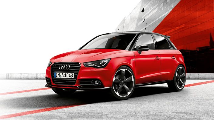 Audi France > Gamme > A1 > Amplified Red