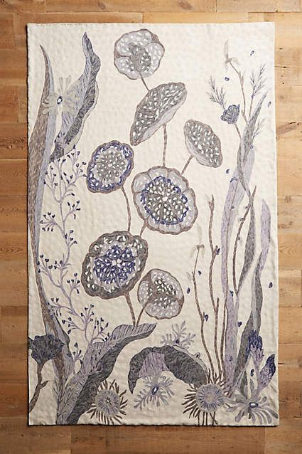 Waterblooms Rug - anthropologie.com
