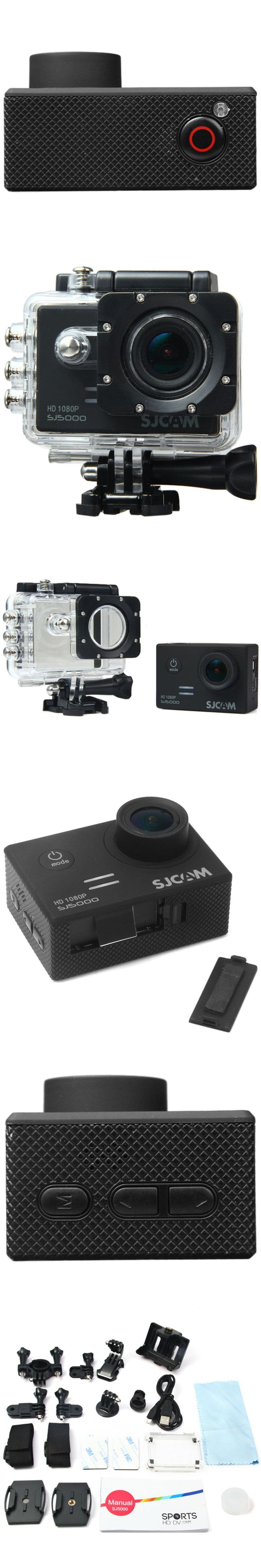 Original SJCAM SJ5000 Series Action Video Camera SJ5000X 4K Elite /  SJ5000 Basic Mini Outdoor Sport Camcorder DV