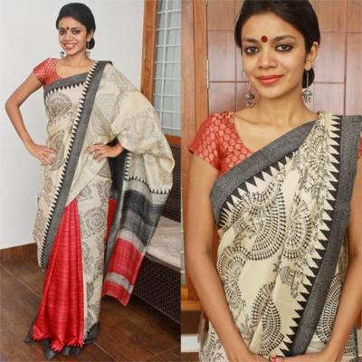 Shopo   Product from NVY studio Shop   Worli Kosa silk sarees. Love. Rs.5,500