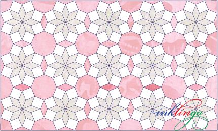 Octagon Quilting Templates : Cathi s Octagon Layout. A nice, unusual quilt layout from Inklingo using octagons. Quilt and ...