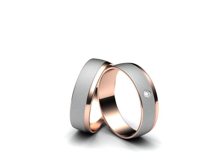 Aiola Snubní prsteny A738